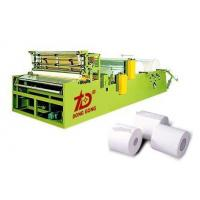 Quality DOT-By-DOT Rewinding And Perforating Toilet Paper Machine wholesale