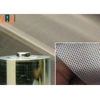 0.5x0.7mm Opening Micro Expanded Metal Mesh Stainless Steel For Current for sale