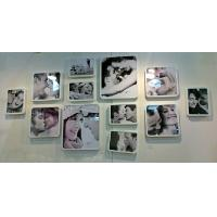 Cheap acrylic photo frames wall mount for sale