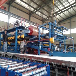 China Automatic Rock Wool Sandwich Panel Machine Line on sale