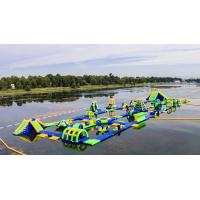 Quality Inflatable Floating Water Sports Theme Park / Water Splash Park Installed In Milano wholesale