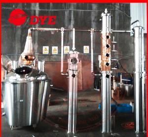 Quality Copper alcohol still distiller,distillation equipment for making brandy,rum wholesale
