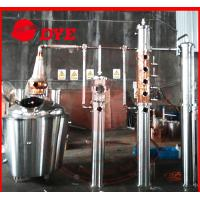 Quality Copper alcohol still distiller,distillation equipment for making brandy,rum wholesale