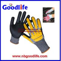 Quality PU Palm Coated Cut Resistant Glove TPR cut resistance Gloves wholesale