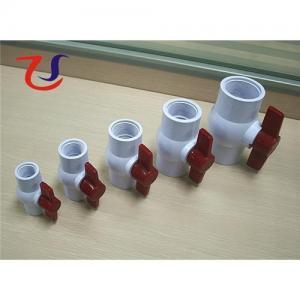 China Socket pvc ball valve on sale