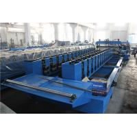 Quality Hydraulic Cutting Roll Shutter Door Frame Roll Forming Machine with Holes Punching wholesale
