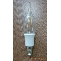 China 220V / 240V 1.8W 3000K Old Style Filament Light Bulbs Dimmable Led Candle Bulbs on sale