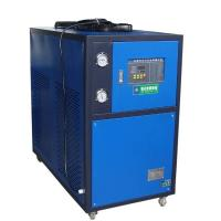 Quality Blue 5HP Industrial Air Cooled Chiller With Motor Overload Protection Function wholesale