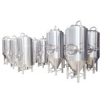China Beer Brew Kettle Stainless Steel 25 Gallon Conical Beer Fermenter on sale