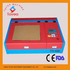 China Desktop Mini laser engraver machine with square linear rail TYE-4040 on sale