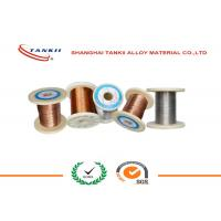 Quality Dia 0.8mm 1.2mm CuNi23Mn Copper Nickel Wire For Under Floor Heating Cable wholesale