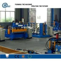 Quality Hydraulic Powered Metal Roofing Roll Forming Machine With 3 Groups Rollers wholesale
