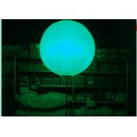 China 2.5m Advertisement LED Light Balloon / Popular Inflatable Advertising Balloons on sale