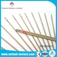 Free Sample Low Carbon Steel Branded AWS E6013 J421 Mild Steel Welding Rods