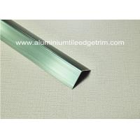 China Good Anodized Champagne Aluminium Angle Trim 20mm x 20mm x 2.5m on sale