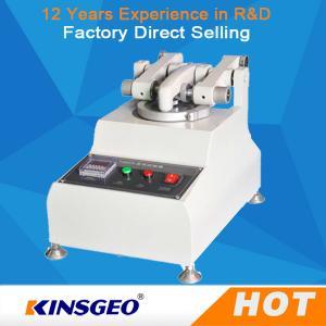 Quality KJ-3050 Customized Rubber Testing Machine Wear Resistance Of Skin wholesale