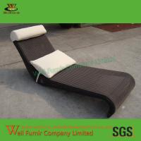 China Supply Cheap Sun Lounger, Poolside Chaise Lounge, Rattan Garden Furniture, on sale