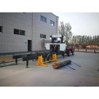 Quality portable horizontal carpenter saw (diesel/electrical), mobile band sawmill machine Low COST wholesale