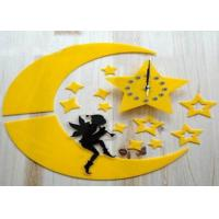 Quality Creative Wall Decal Clock Diy Personalized Gift sticker wall clock wholesale