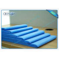 China Blue Color Soft Disposable Medical Duvet Cover With Air Permeability on sale