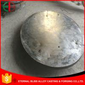 Quality GB 5680 ZGMn 13-2,3 Sand Cast Process Machining Cast Hardness HB300 Wear Plates EB12022 wholesale