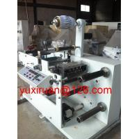 Cheap Full Automatic Adhesive Label Slitting Machine 20~80m/min HBF-320 for sale