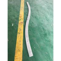 Cheap Custom Small Radius Aluminum Bending Profiles with Silver Anodized for sale