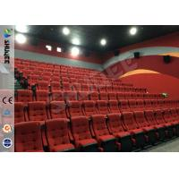 Quality Real Feeling Large Screen Hd 3D Cinema System For Holding 40 People wholesale