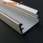 Quality double side aluminum frame led custom light aluminum extrusion profile for led advertising edgelit light box wholesale
