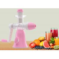 Quality Small Size Screw Squeeze Manual Juice Maker Ice Cream Maker Power Free wholesale