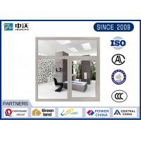Quality Gray Windproof Heat Resistant Windows , Steel Fire Rated Pass Through Window wholesale