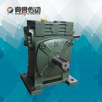 Cheap Hollow Shaft Worm Gear Speed Reducer Gearbox For Concrete Mixer , High Performance for sale