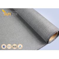 Quality 1.5 Mm Thickness Boiler Insulation High Temp Fiberglass Fireproof Coated With Calcium Silicate wholesale