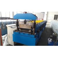 Quality Roof Panel Standing Seam Roll Forming Machine With Rib And Electrical Seaming Machine wholesale