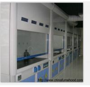 Quality Stainless Steel Feet FRP Fume Hood Cupboard 800-1000mm Door Opening Height wholesale