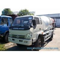 China Right Hand Drive Forland 4 M3 cement mixer lorry 130 Hp Euro 3 Engine on sale
