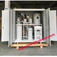 Quality Vacuum Hydraulic Oil Cleaning Machine, Oil Filtering Machine, Lube Oil Purification System breaking emulsification wholesale