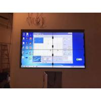 Quality Broadcast  LCD Video Wall , LCD Wall Display Demonstration Window 1.8MM wholesale