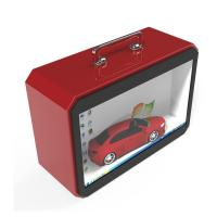 China TFT Type Transparent LCD Screen , Transparent Lcd Box With Portable Handle on sale
