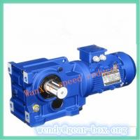 Quality K series Foot-mounted helical-bevel gear motor wholesale