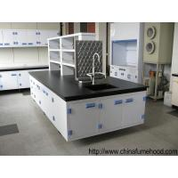 Quality Customized Chemistry Lab Furniture Bench Optionally Colors 2 Layers Reagent Rack wholesale