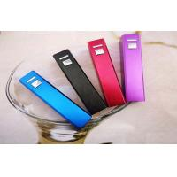 Quality Stylish Women Lipstick  Mobile Power Bank for Samsung,smartphone ,2600mAh with optional color wholesale