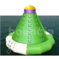 Quality Durable PVC Tarpaulin Inflatable Water Sports / Inflatable Water Tower For Climbing wholesale
