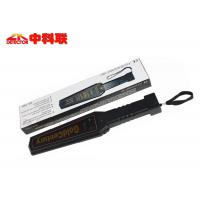Quality Super Scanner Portable Metal Detector , Explosive Security Metal Detector Hand Wand wholesale
