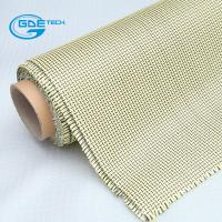 China Red Black Carbon Kevlar Hybrid Cloth Fabric for Sale on sale