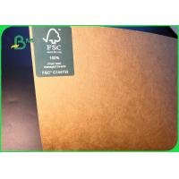 100GSM Environment Friendly Natural Brown Kraft Paper Jumbo Roll For Making Bag