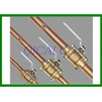 Quality Model 307 Brass Gas Shut Off Valves , Components CSA / UL / ISO9001 Customized wholesale