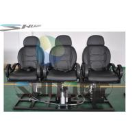 Quality Strong simulation and electric shock Motion Theater Chair  with pneumatic system supplier wholesale