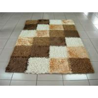 Quality Chinese Knot Mixed With Poyester Silk Boxes Shaggy Carpet And Rug wholesale