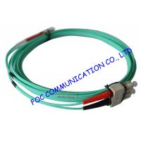 Quality 10Gb OM3 LSZH LC SC Single Mode Fiber Patch Cable For Telecommunication Networks wholesale